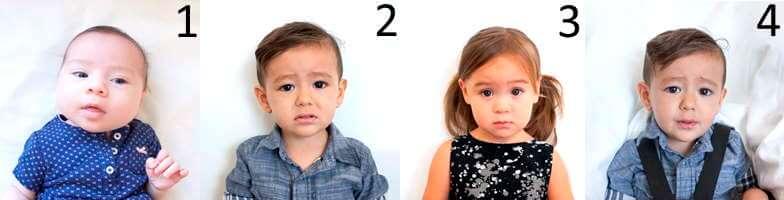 Правильные образцы фотографий детей для заявки на Лотерею Green card