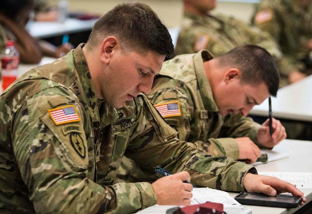 Обучение солдат