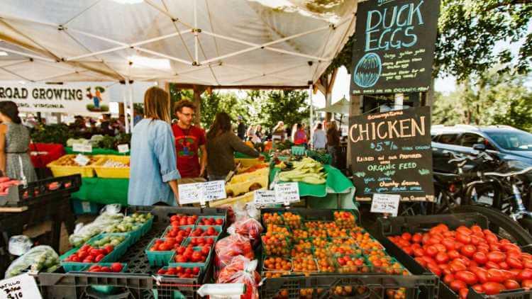 Фото фермерский рынок