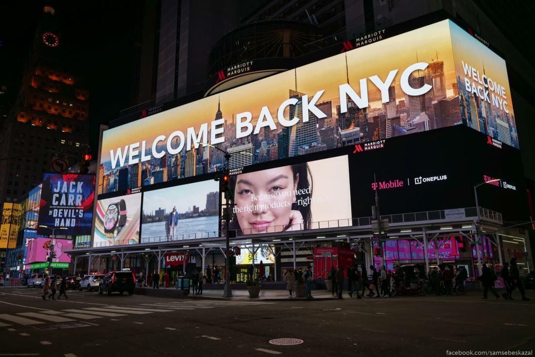 США Нью-Йорк фото