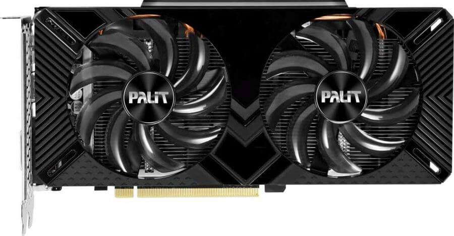 Фото Nvidia1660 super от Palit
